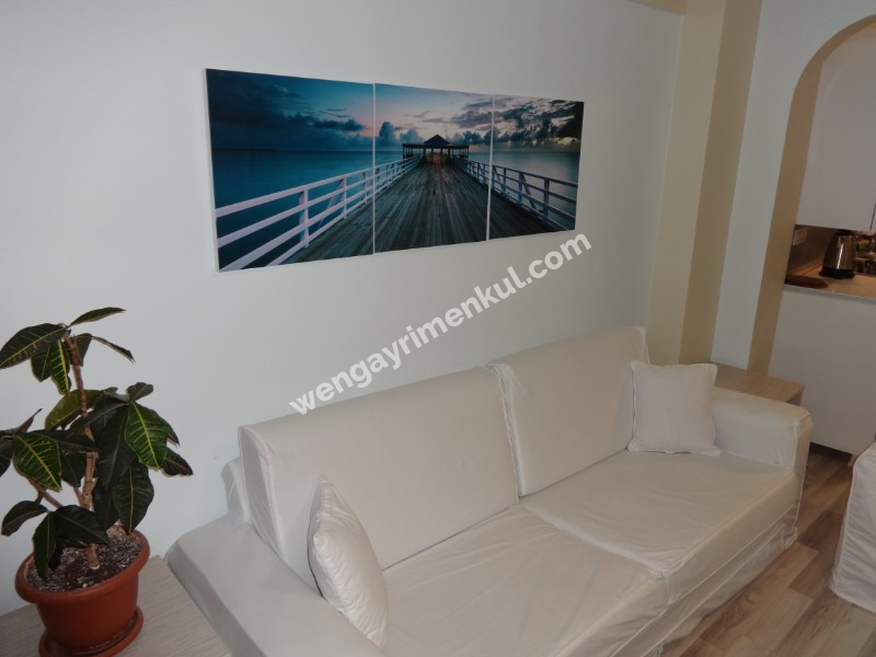 Besiktas Fully Furnished 2+1 Flats Great Sea View Very Central