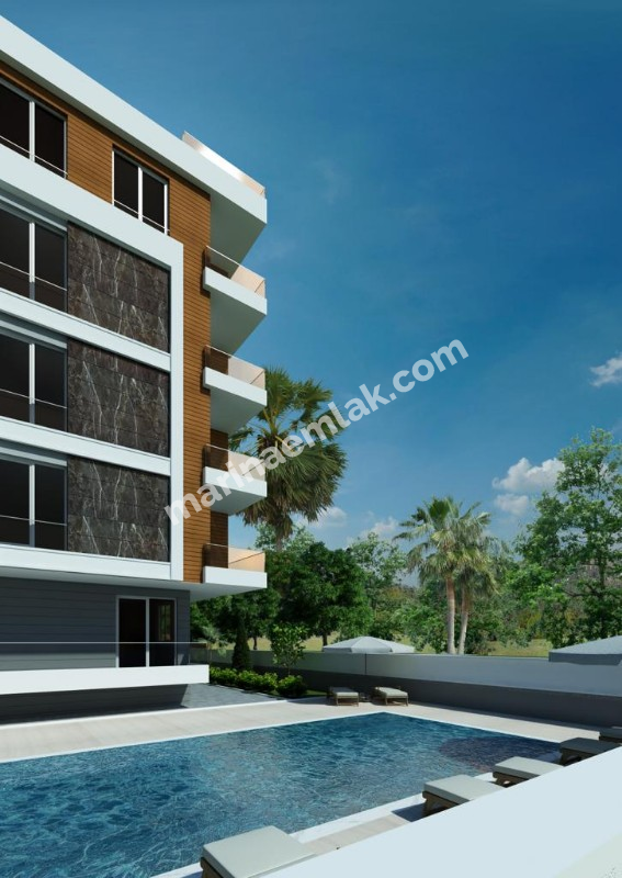 Luxury apartment for sale in the district of Antalya Liman