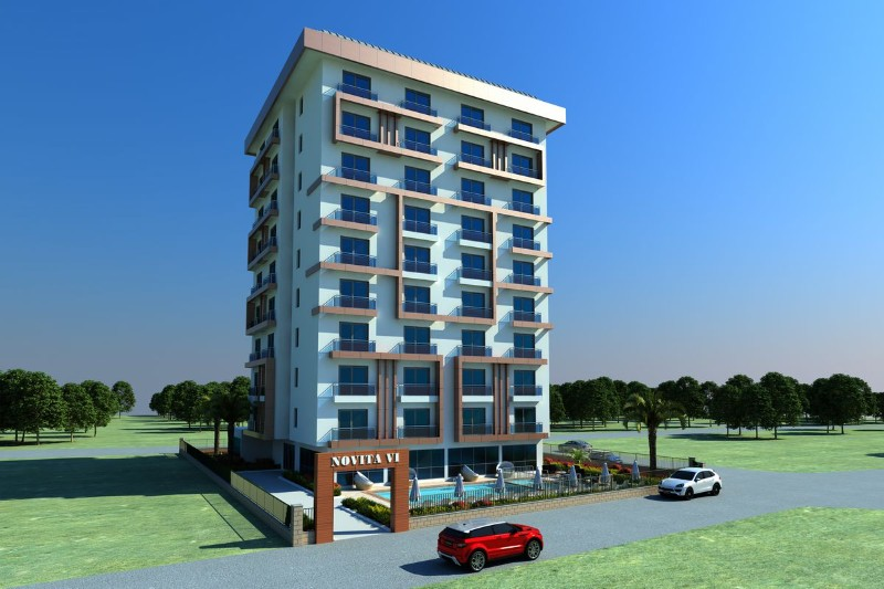 ULTRA LUXURY SOCIAL ACTIVITY LOTS of 1 + 1 RESİDENCE APARTMENTS !!